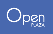 Open Plaza logo 2014 con fondo