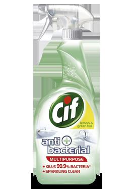 Cif Antibacterial Lemon & Green Tea
