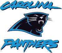 Carolina Panthers with workmark old