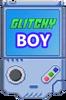 Glitchy boy 1 Transparent