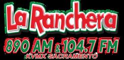 La Ranchera KVMX 890 AM 104.7 FM.png