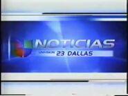 Kuvn noticias univision 23 dallas evening package 2001
