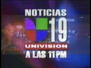 Kuvs noticias 19 univision 11pm package 1997