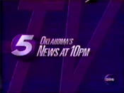 KOCO Oklahoma's 5 News at 10pm - 1996