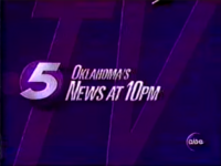 KOCO Oklahoma's 5 News at 10pm - 1996