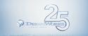DreamWorks 25 Years Logo