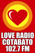 102.7 Love Radio Cotabato City 2nd logo