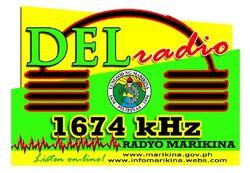 Old DZBF 1674 Del Radio-Radyo Marikina Logo.jpg