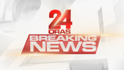 24 Oras Breaking News Official titled card