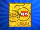 RPN 50 years logo