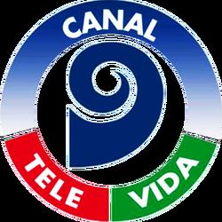 Canal 9 Televida (Logo 1995).png