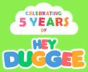 Hey Duggee 5th Anniversary Logo
