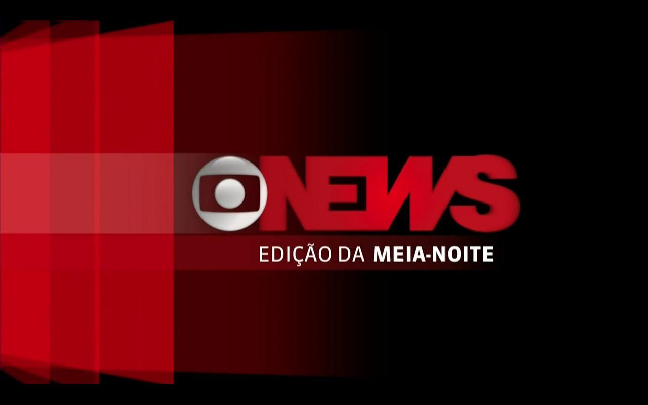 Jornal GloboNews - Edição da Meia-Noite