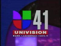 1996 Univision 41 KLUZ 10pm
