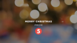 Merry Christmas From 5 - TV5 Christmas Station ID (2018)