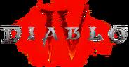 Diablo IV logo glow