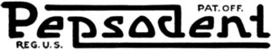 Pepsodent logo 1918.png
