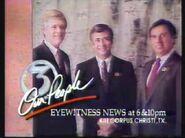 1991 Feb 9 KIII TV 3 Corpus Eyewitness News At War Promo