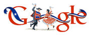 Google 203rd Anniversary of the First Government Assembly in Chile