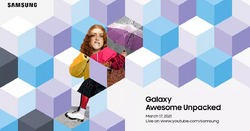 Galaxy Awesome Unpacked Invitation