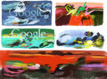 Google Alejandro Obregon's 93rd Birthday (Storyboards)