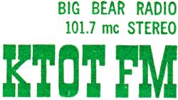 KTOT FM Big Bear Lake 1982.png
