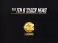 WUAB Channel 43 The Ten O'Clock News Logo 1988