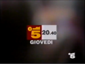 Canale 5 - red white and yellow 1994