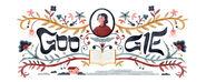 Google Rachel Bluwstein's 126th Birthday