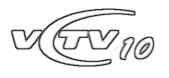 VCTV10 logo (2008-10) remake by TN Archive