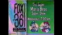 WATL FOX 36 promo for Super Mario Bros Super Show 1990