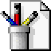 Microsoft Paint Logo (1998-2001) (Alternative)