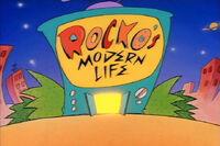 Rockos modern life logo