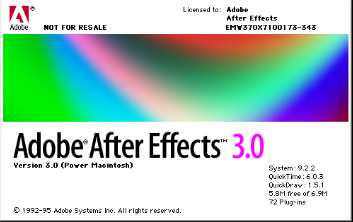 Adobe After Effects/Other