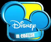 Disney in english logo.png
