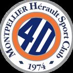 Montpellier HSC logo (40th anniversary)