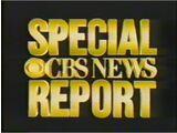 CBS News Special Report