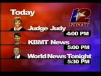 KBMT Afternoon Lineup 2005