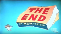 The End An MGM Cartoon (The Tom and Jerry Cartoon Kit)
