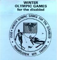 Örnsköldsvik 1976 Paralympics logo.png