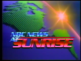 NBC News at Sunrise