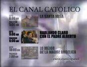 EWTN spanish schedule bumper