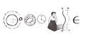 Google Emmy Noether's 133rd Birthday (Sketch 2)
