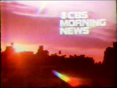 CBS Morning News (1963 Series)