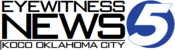 KOCO Eyewitness News 5 logo with ID