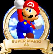 Logo 64-Super Mario 3D All-Stars