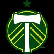 Portland Timbers logo (one star)