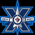 Winnipeg Jets 10th anniversary