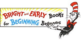 """Logo for the """"Bight and Early Books for Beginning Beginners"""" series"""