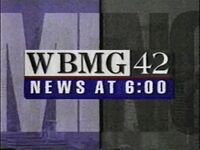 WBMG-TV 42 News a 6 open 1994